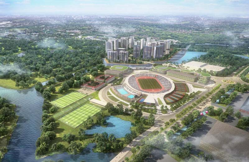 phoi canh du an saigon sports city keppel land quan 2