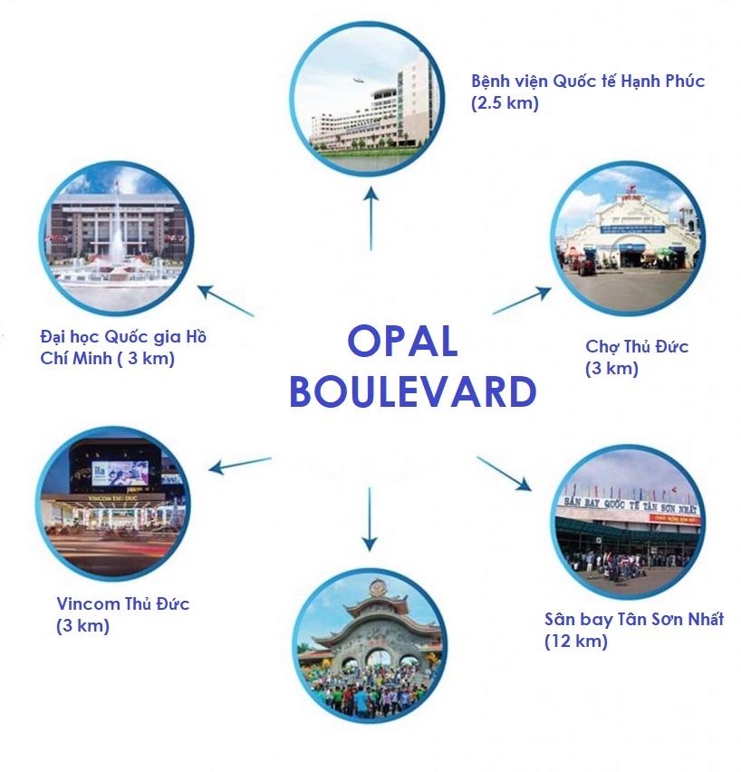tien ich xung quanh opal boulevard