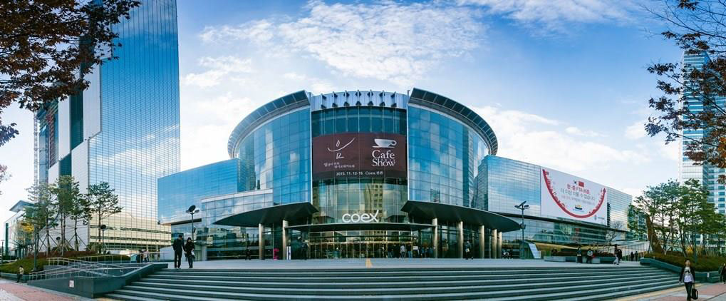 The COEX Convention Center cua gs e&c