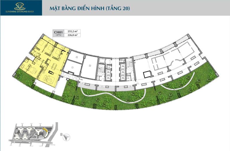 mat bang tang 20 sunshine diamond river