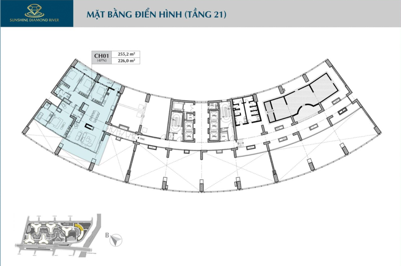 mat bang tang 21 sunshine diamond river
