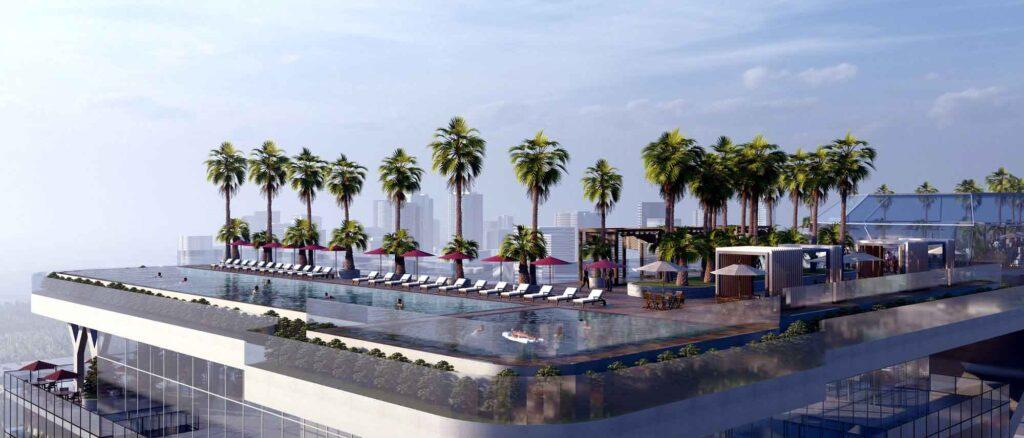 ho boi panorama tang thuong sunshine horizon