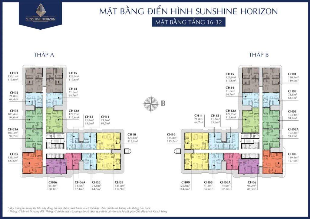 mat bang tang 16-32 sunshine horizon