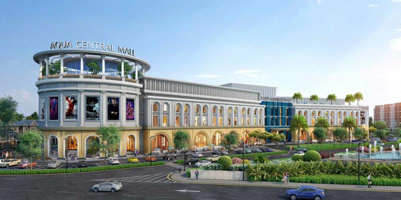 aqua central mall aqua city