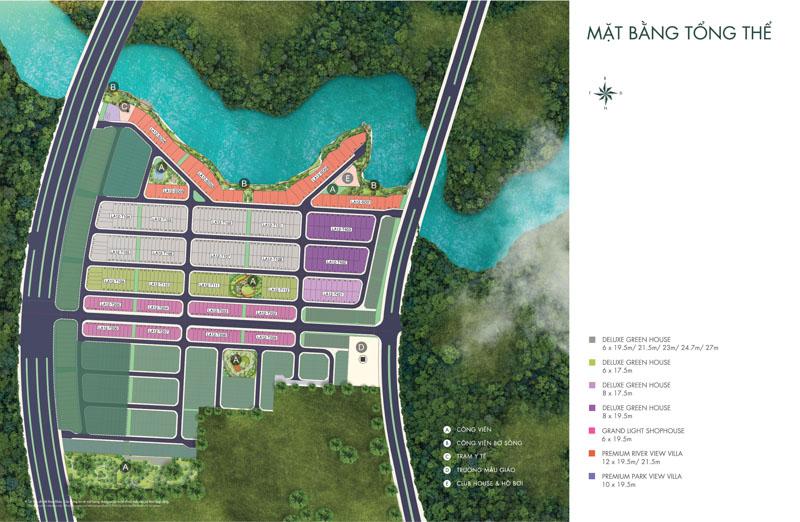mat bang river park 1 aqua city