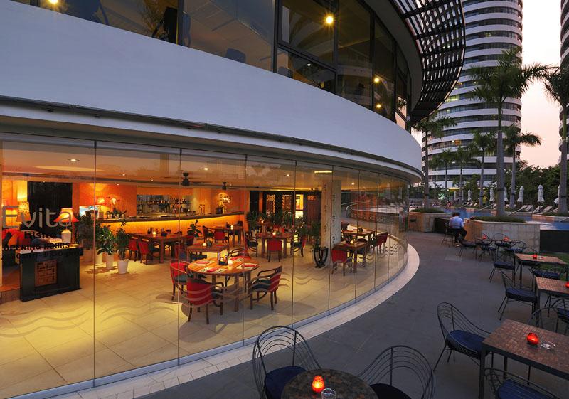 nha hang cafe tai city garden