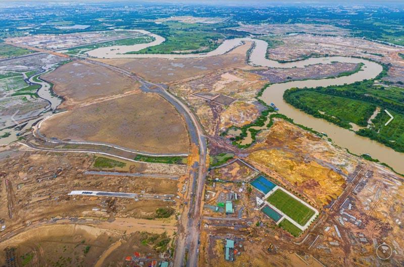 tien do xay dung aqua city dong nai 7-2020
