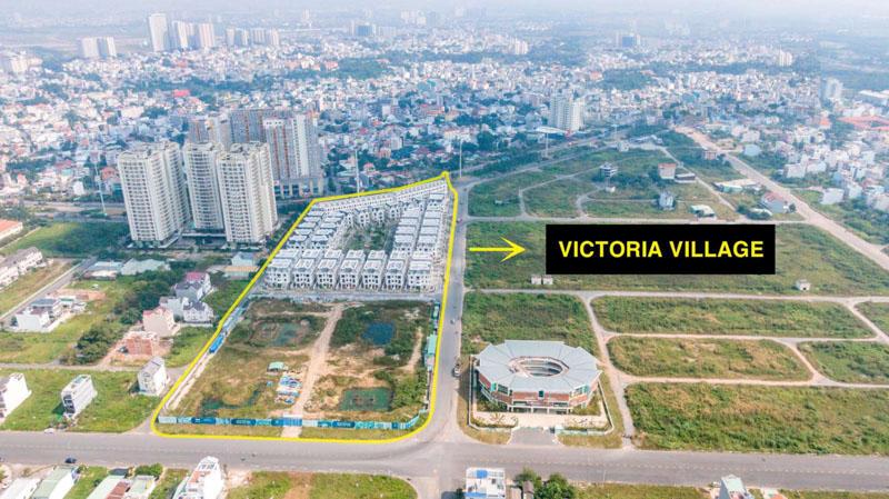khu dat phat trien du an Victoria Village