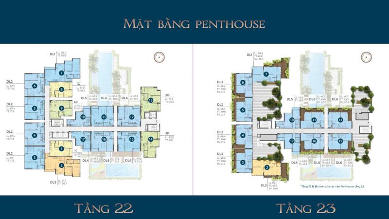 mat bang tang penthouse Precia