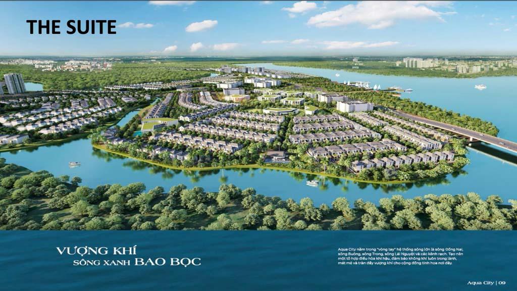 phoi canh phan ky the suite Aqua City