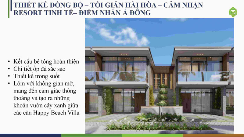 thiet ke biet thu happy beach villas novaworld ho tram