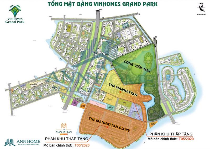 vi tri nha pho biet thu the manhattan trong khu do thi vinhomes grand park quan 9