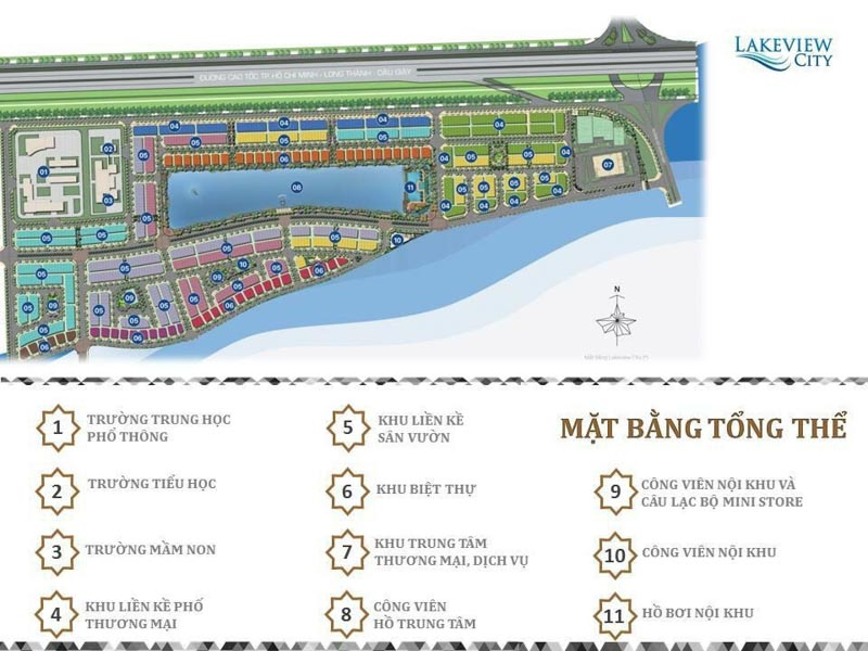 mat bang tong the lakeview city