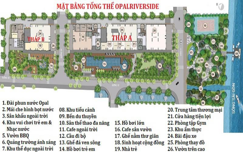 mat bang tong the opal riverside thu duc