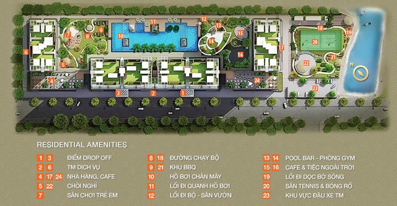 mat bang du an can ho the park residence