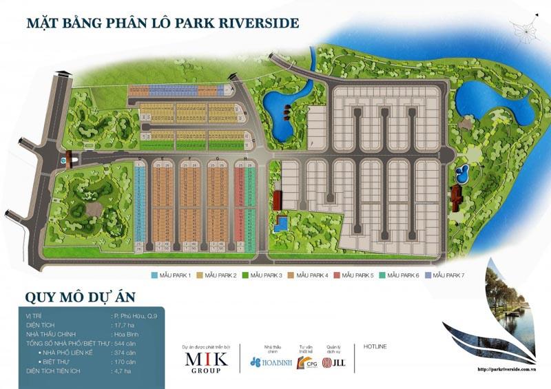mat bang park riverside