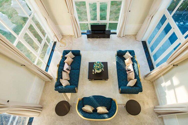 phong khach sol villas