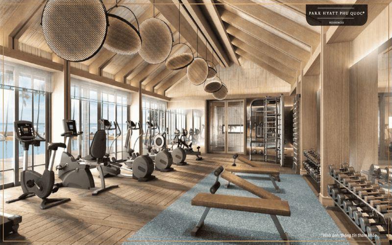 phong tap gym du an park hyatt phu quoc