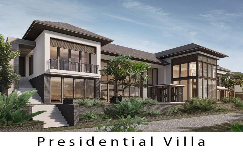 presidential villa intercontinental ha long