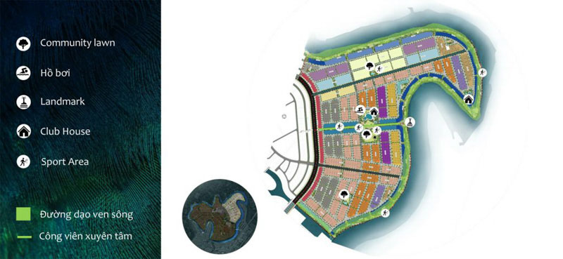mat bang dao phuong hoang aqua city phoenix
