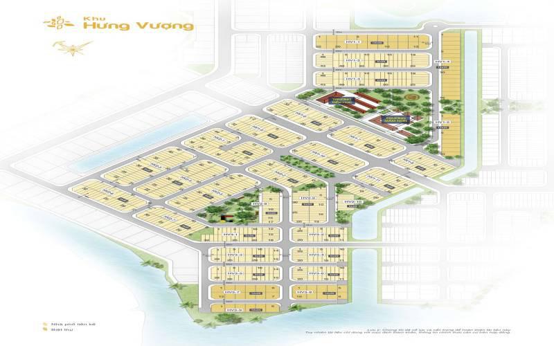 mat bang khu hung vuong bien hoa new city