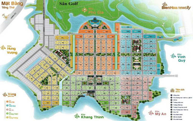 mat bang tong the bien hoa new city dong nai