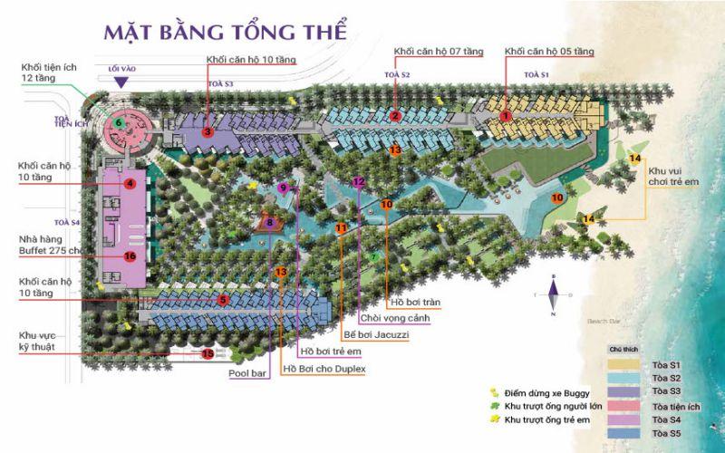 mat bang tong the the residence phu quoc