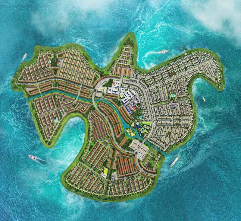 dao phuong hoang aqua city