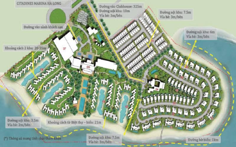 mat bang tong the grand bay ha long villas