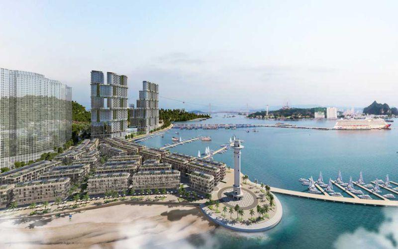 phoi canh du an sun grand marina town ha long