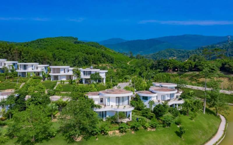 thuc te biet thu  ivory villas resort hoa binh