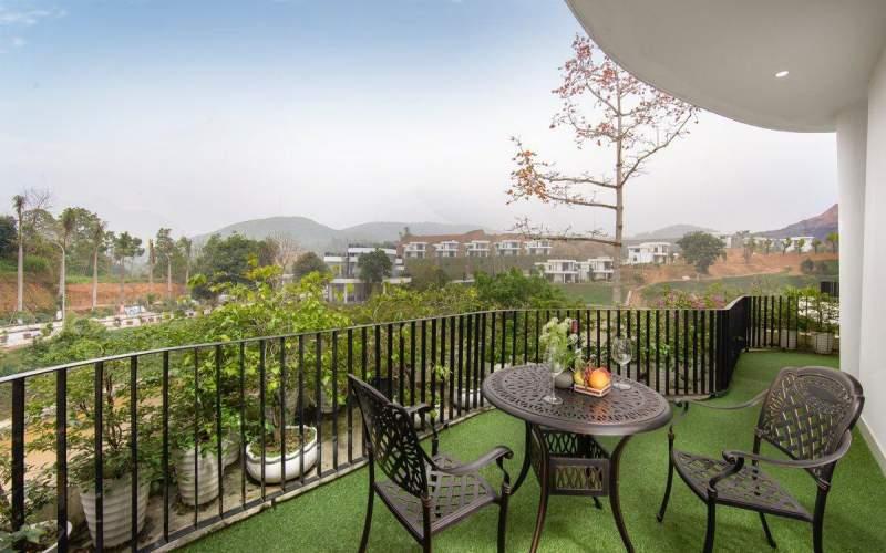 tien ich  ivory villas resort hoa binh