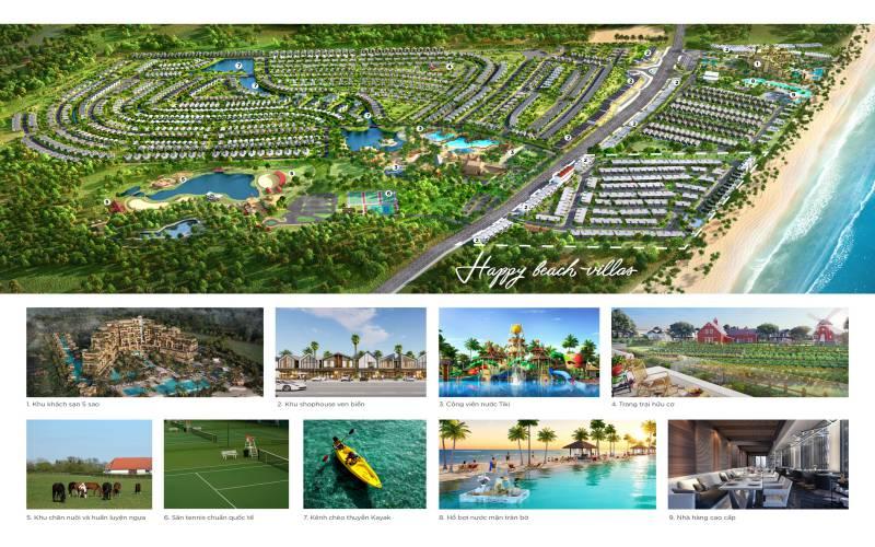 tien ich phan ky happy beach villas