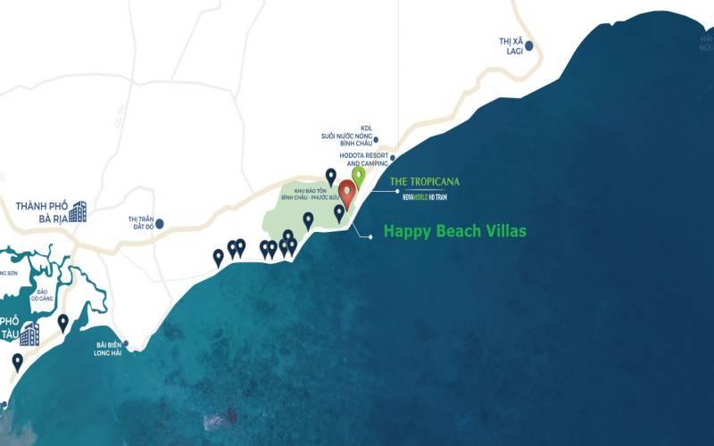 vi tri du an happy beach villas