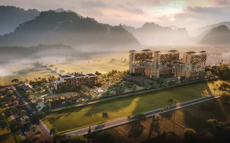 phoi canh apec mandala sky villas kim boi