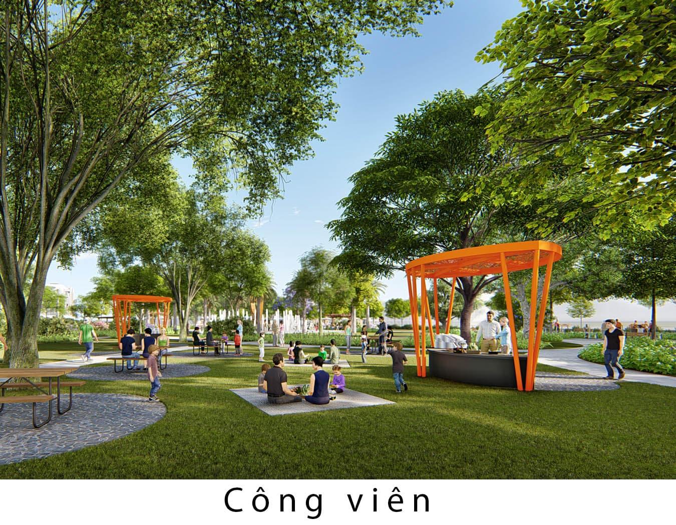 cong vien gia ban feni city ha long